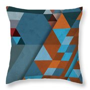 Geometric Beginnings Throw Pillow