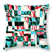 Geometric Confusion 2 Throw Pillow