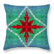 Geometric Fantasy Throw Pillow