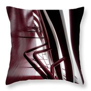 Geometric Flow 11 Throw Pillow