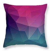 Geometric Flow Throw Pillow