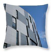 Geometric Intrigue Throw Pillow