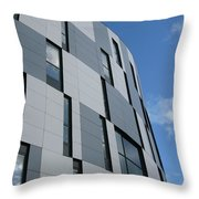 Geometric Intrigue Throw Pillow