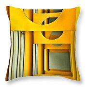 Geometric Parity II Throw Pillow