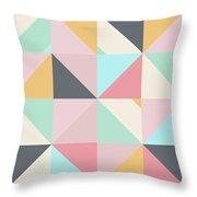 Geometric Pattern Xv Throw Pillow