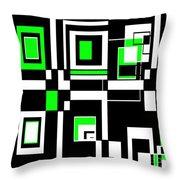 Geometric Pizazz 4 Throw Pillow