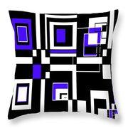 Geometric Pizazz 5 Throw Pillow
