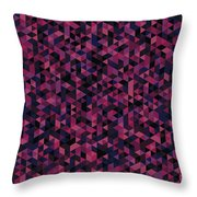 Geometric Print Throw Pillow