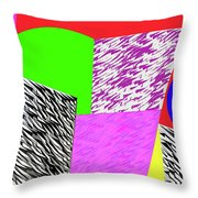 Geometric Shapes 1 Throw Pillow