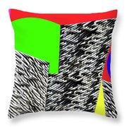 Geometric Shapes 4 Throw Pillow