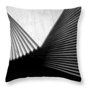 Geometric Shapes And Stairs Throw Pillow