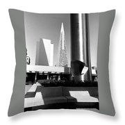 Geometry In Action Throw Pillow