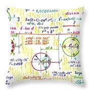 Geometry Kingdom Throw Pillow