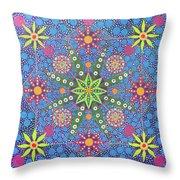 Geometry Of An Arkana Throw Pillow