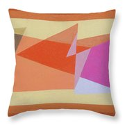 Geometry Shapes And Colors 6 Throw Pillow