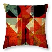 Geomix-04 - 39c3at22g Throw Pillow