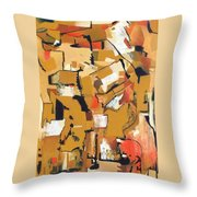 Geopolitical Osmosis Throw Pillow