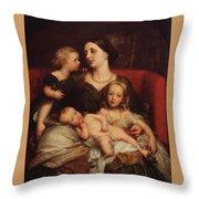 George Augustus Frederick Cavendish Throw Pillow