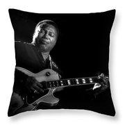 George Benson  Throw Pillow