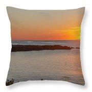 George Bush Home - Kennebunkport Throw Pillow