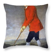 George Chambers: Throw Pillow
