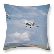 George Ford And Matt Beaubien In Friday Morning's Sport Class 5x7 Aspect Signature Edition Throw Pillow