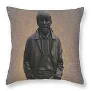 George Harrison N F Throw Pillow