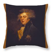 George Iv When Prince Of Wales Throw Pillow