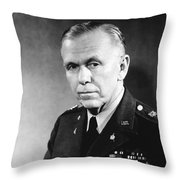George Marshall Throw Pillow