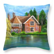 George Michaels Estate In Goring,england Throw Pillow