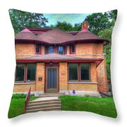 George W. Furbeck House Throw Pillow
