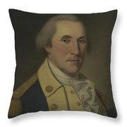 George Washington, 1788 Throw Pillow