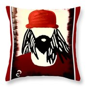 Georgia Boy Throw Pillow