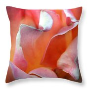 Georgias Rose Throw Pillow