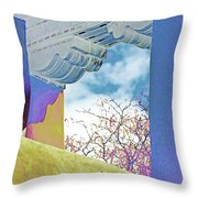 Georgias Vision Throw Pillow