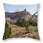 Gerald's Tree Throw Pillow