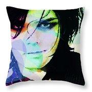 Gerard Way My Chemical Romance  Throw Pillow