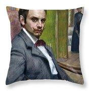 Gerardo Murillo (1875-1964) Throw Pillow