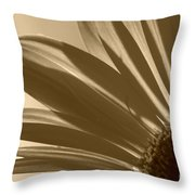 Gerber Flower Throw Pillow