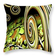Germ In Nation Throw Pillow