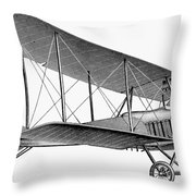 German Airplane, 1913 Throw Pillow