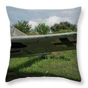 German Fighter Throw Pillow