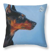German Pinscher Throw Pillow