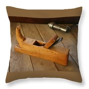 German Plane Throw Pillow
