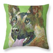 German Shephered Throw Pillow