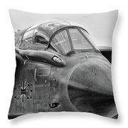 German Tornado  Throw Pillow