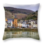 German Wine Country Throw Pillow