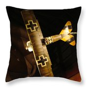 German Wwi Attack Throw Pillow