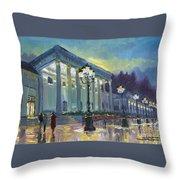 Germany Baden-baden Casino Throw Pillow