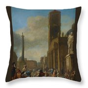 Germany Holland Throw Pillow